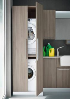Vertical Laundry Room Is The Ultimate Space-Saver For Your Home