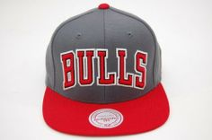 Mitchell and Ness NBA Chicago Bulls Bold Dark Grey Red 2 Tone Snapback Cap by Mitchell & Ness. $27.99. Original Mitchell and Ness Sanpback Cap NBA Vintage Snapback Cap. Authentic NBA Bold Dark Grey Red 2 Tone Snapback Cap.. Save 30%!
