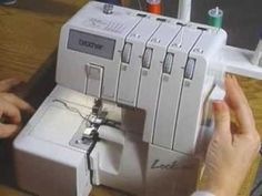 ***Use this video rather than the disc that came with the serger***~~~~▶ Brother 1034D / 1134D English Instructional Video - YouTube