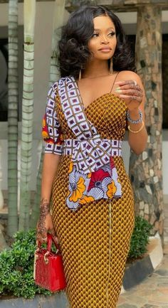 Ankara Short Gown Dresses: for most Beautiful Ladies.Ankara Short Gown Dresses: for most Beautiful Ladies Ankara Short Gown Dresses, Ankara Short Gown Styles, Trendy Ankara Styles, Short Gowns, African Print Dresses, African Wear, African Dress, Ankara Skirt, African Prints