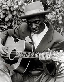Skip James - influential early Delta blues man distinguished by haunting falsetto vocals.