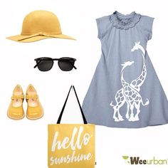 Channel your inner 70's and rock this outfit for the day! Hat by @sportsgirl, bag by @thiscreativegirl.com , kid glasses by @juniorSUN and these adorable