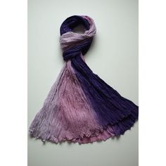Jessica scarf purple sunset fab.com