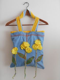 Hey, I found this really awesome Etsy listing at https://www.etsy.com/listing/223022118/recycled-jeans-handbags-applique-bag