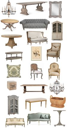 LOVE this french furniture sale