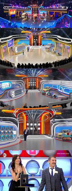 TV Studio Design, tv set design  #tvstudio #dekortasarım