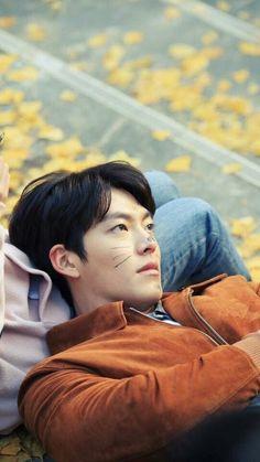 Cat Kim Woo Bin ❤ Wallpaper  #kimwoobin #wallpaper #cute #handsome #actor #koreanactor