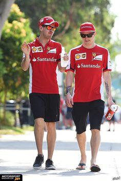 #Kimi #KimiRaikkonen #Raikkonen #Iceman #F1 #Sepang #MalaysianGP #ScuderiaFerrari #MalGP #redseason Friday (march 27,2015) pic18
