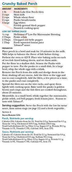 baked perch recipe