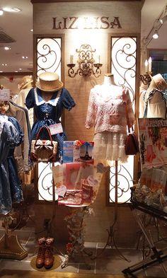 LIZ LISA: 日本のふくのブランド。*。*    Want to shop here soooooo badly