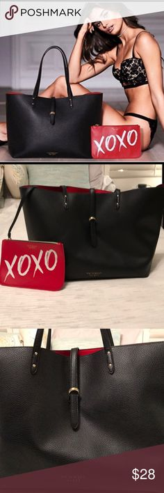 Victoria secret valentines tote Great condition just a few marks on the inside Bags Totes