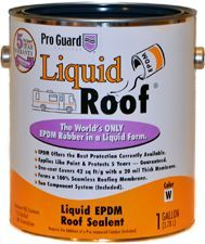 Liquid Roof Can--RV roof repair