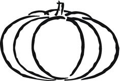 Pumpkin Coloring Pages For Preschoolers #004 - http://coloringonweb.com/2014/11/pumpkin-coloring-pages-for-preschoolers-004-9250/