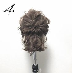 Hair Arrange, Stylish Hair, Bun Hairstyles, Hair Inspo, Bridal Hair, Makeup Looks, Hair Care, Short Hair Styles, Hair Makeup