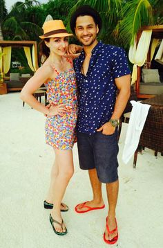 Soha Ali Khan and Kunal Khemu on a holiday in the Maldives.