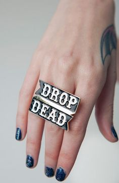 Banner Ring, Drop Dead Clothing