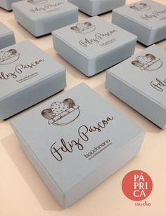 Projeto Especial - caixas de presentes para a Páscoa - studio Páprica