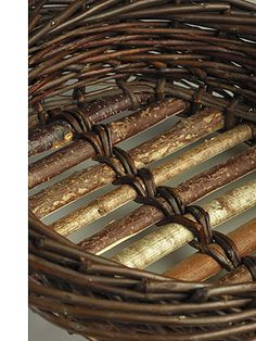 Willow Baskets by Trevor Leat