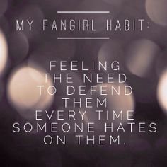 My Fangirl Problems