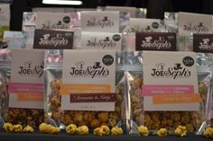 11-faldigt prisbelönade popcorn från Joe & Seph's Gourmet Popcorn: http://beriksson.net/vara-varumarken/joe-sephs-gourmet-popcorn