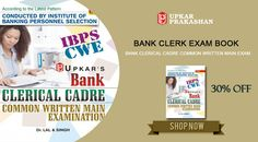 Buy Bank Clerk Exam Books Online at Upkar.in with 30% Discount.