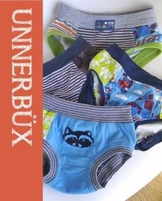 FREE Toddler underwear pattern. No tutorial, just the pattern pieces only.