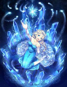 FROZEN アナと雪の女王 Let it go by 須賀まさし on pixiv