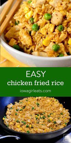 Easy Chicken Dinner Recipes, Gluten Free Recipes For Dinner, Easy Meals, Recipes Dinner, Recipe Chicken, Dinner Ideas, Rice Recipes, Asian Recipes, Cooking Recipes