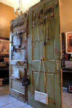 old door roomdivider