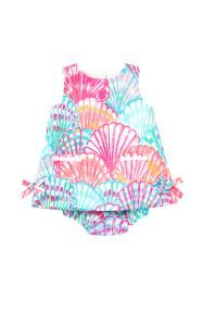 Baby Lilly Shift Dress - Lilly Pulitzer Multi Oh Shello Cute Kids, Cute Babies, Baby Kids, Little Girl Dresses, Little Girls, Girls Dresses, Baby Girl Fashion, Kids Fashion, Mother Daughter Matching Outfits