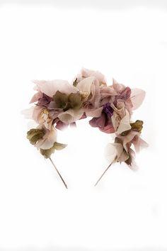 Diadema de floral, de Rita Von
