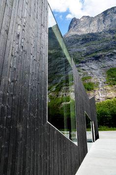 Troll Wall Restaurant by Reiulf Ramstad Architects — ARCHITECTURELOVER.COM