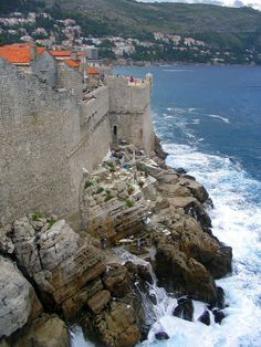 Dubrovnik, Croatia....been here. Amazing place with nice people who speak English well!