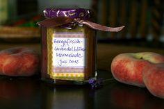 transglobal pan party: BERGPFIRSICH-LAVENDEL-MARMELADE