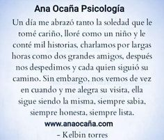 Ana Ocaña Psicología, especialista en salud.  www.anaocaña.com  La #soledad tiene una parte muy positiva de #autoconocimiento y #autoescucha que nos ayuda a colocar las cosas en su sitio y a #encontrarnos con nosotros mismos.