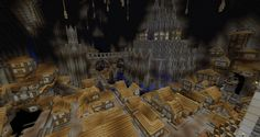 minecraft underground city - Google Search