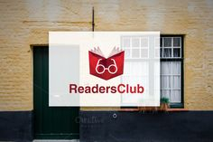 off] Readers Club - Logo Design Templates LOGO TEMPLATE:The Logo is vector based, created with Adobe Illustrator software. It is fully edita by Congruent Graphics Superhero Logo Templates, Free Logo Templates, Logo Design Template, Adobe Illustrator Software, Hallway Displays, Modern Books, Book Logo, Red Books, Library Design