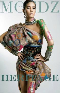 fashion stylist - fashion look -fashion magazine - styling - heritage - Indonesian - tenun - ikat - body painting