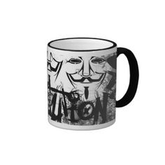 Anonymous Revolution Coffee Mugs