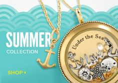 Origami Owl has the summer locket for you!  See our new Summer 2015 collection.  Just click on the pic.