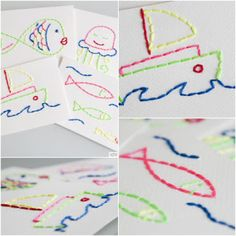 Embroidered Postcards | Lesson Plans | CraftGossip.com