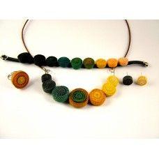 Spirálos ékszerszett 0302 Beaded Necklace, Beaded Bracelets, Jewelry, Fashion, Beaded Collar, Jewlery, Moda, Pearl Necklace, Jewels