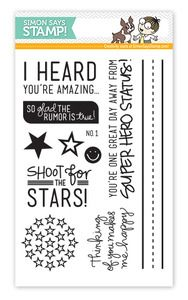 *Simon Says Clear Stamps SHOOT FOR THE STARS Exclusive Set
