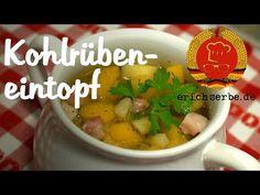 Kohlrübeneintopf (von: erichserbe.de) - Essen in der DDR: Koch- und Backrezepte für ostdeutsche Gerichte | Erichs kulinarisches Erbe