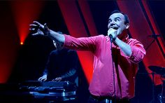 Get on your dancing shoes Future Islands announce sideshows around Mumford & Sons tour