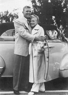 vintage everyday: Marilyn and Joe Kirkwood