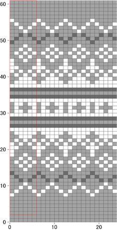 Disk knitting little cotton rabbits Tapestry Crochet Patterns, Fair Isle Knitting Patterns, Knitting Machine Patterns, Knitting Charts, Weaving Patterns, Knitting Stitches, Knitting Socks, Free Knitting, Baby Knitting