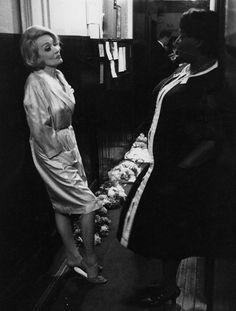 Marlene Dietrich in Edinburgh by Peter Basch, 1964