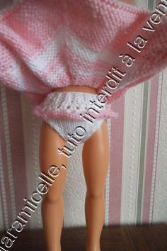 Free tutorial doll: frilly panties