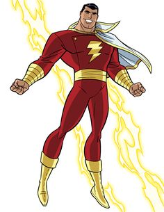 Captain Marvel/Shazam by Tim Levins
